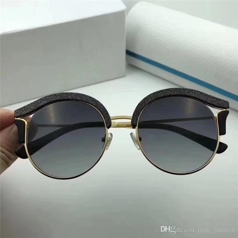 4c9f91b7db3 2018 Luxury Designer Sunglasses Womens UV400 Fashion Style Round Frame  Sunglass New Vintage Sun Glass For Beach Party Shopping Native Sunglasses  Wholesale ...