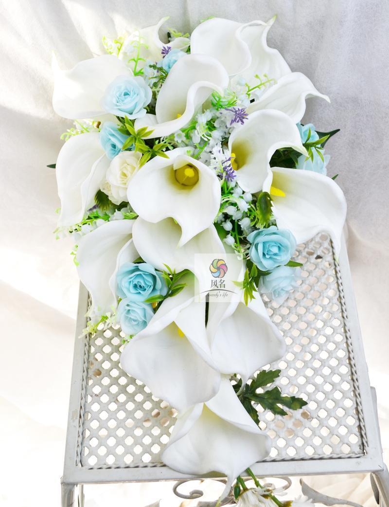2018 Handmade Flower Wedding Supplies Bridal Bridesmaid Bouquet