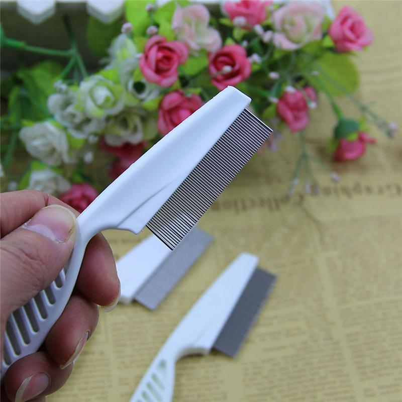 Professional Metal Nit Head Hair Lice Comb Fine Toothed Flea Flee