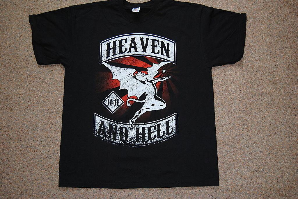 b304fe99c2 HEAVEN   HELL CHOPPER LOGO T SHIRT XL NEW OFFICIAL BLACK SABBATH DIO IOMMI  Denim Clothes Camiseta T Shirt Buy Shirt Designs Funny Clever T Shirts From  ...