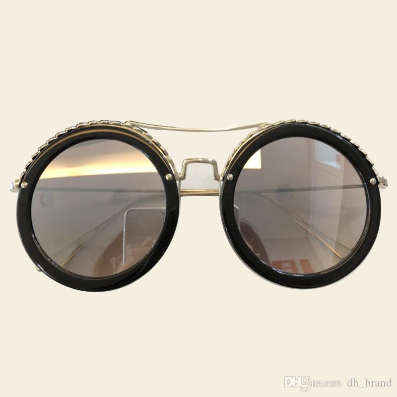a74a1d354676 Metal Round Frame Sunglasses Circle Alloy Women Luxury Gradient Double Beam  Sun Glasses Shades For Womens Glasses For Men Mens Eyeglasses From  Dh brand
