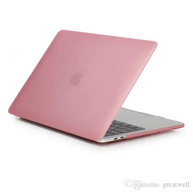 Frosted Surface Matte hard Cover Case For Macbook 12 Air 11.6 13.3 15.4 Pro A1706 A1708 Laptop Case