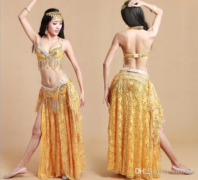 2c6149a1b571 2019 Hot New Colorfull Arabic Belly Dance Clothing Belly Dance Suit ...