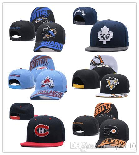 01c4f2d2c68 Good Quality Toronto Maple Leafs Ice Hockey Beanies Embroidery Adjustable  Hat Embroidered Snapback Caps Black Blue Gray Flat Brim Hats Baby Cap From  ...