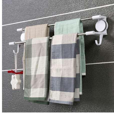 Großhandel Mrosaa Badezimmer Handtuchhalter Wasserdichte Doppel ...