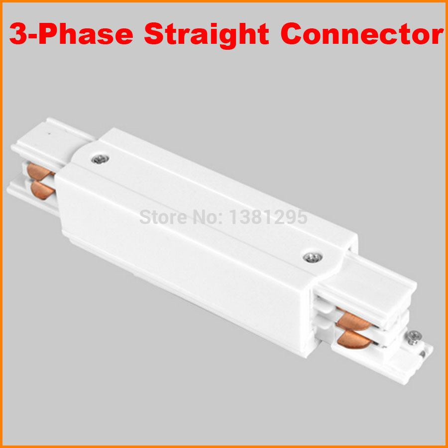 2018 3 phase circuit 4 wire square led track light rail middle 2018 3 phase circuit 4 wire square led track light rail middle feed straight connector aluminum track accessories tracks joiner white from grege mozeypictures Image collections
