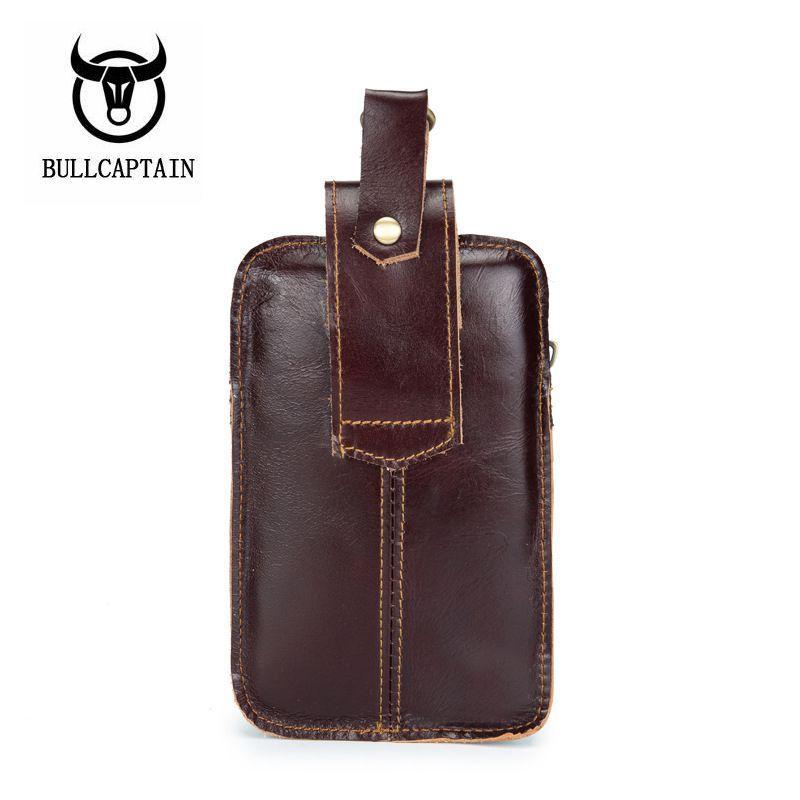 4a77b426c013 Wholesale 2018 Men s Leather Cigarette Pure Waist Bag Fanny Pack ...
