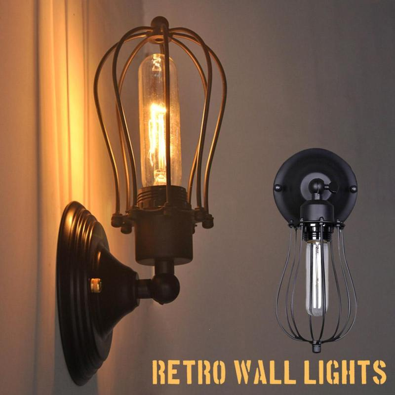 Antique industrial lighting fixtures Modern Kitchen 2019 Loft Vintage Industrial Lamps Sconce Wall Light Fixtures E27 220v Retro Bedside Lighting Corridor Edison Bulbs Wall Light Z50 From Caraa Etsy 2019 Loft Vintage Industrial Lamps Sconce Wall Light Fixtures E27