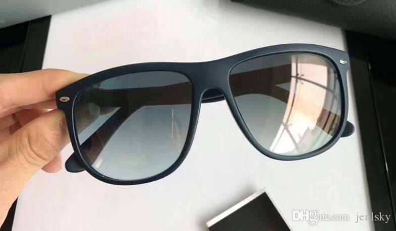 b9aa5fdfac Compre Classic Men 4147 Pilot Sunglasses Matte Black / Grey Gradient Lentes  Gafas De Sol De Lujo De Diseño Gafas Gafas Nuevo Con Caja A $44.17 Del  Jenlsky ...