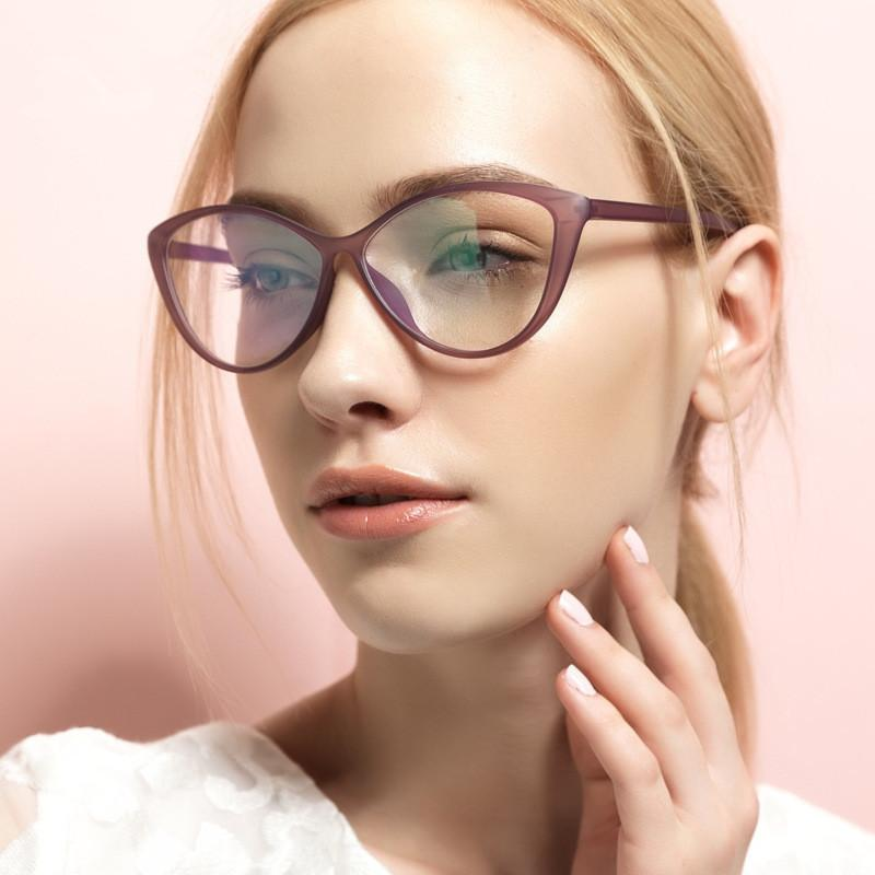 92067a95cd 2019 New Retro Fashion Women Cat Eye Eyeglasses Frames Clear Lens Vintage  TR90 Optical Spectacle Acetate Glasses Eyewear Frame From Arrowhead