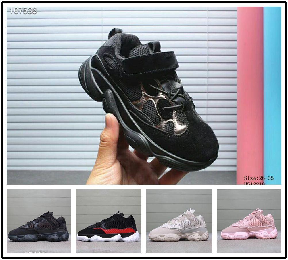 Adidas 2018 Sportschuh Supreme Kinder Jungen Boost Wave Kinderschuhe Runner Yeezy West Mädchen Kanye 500 Trainer Sneaker Laufschuhe e9HED2YbWI