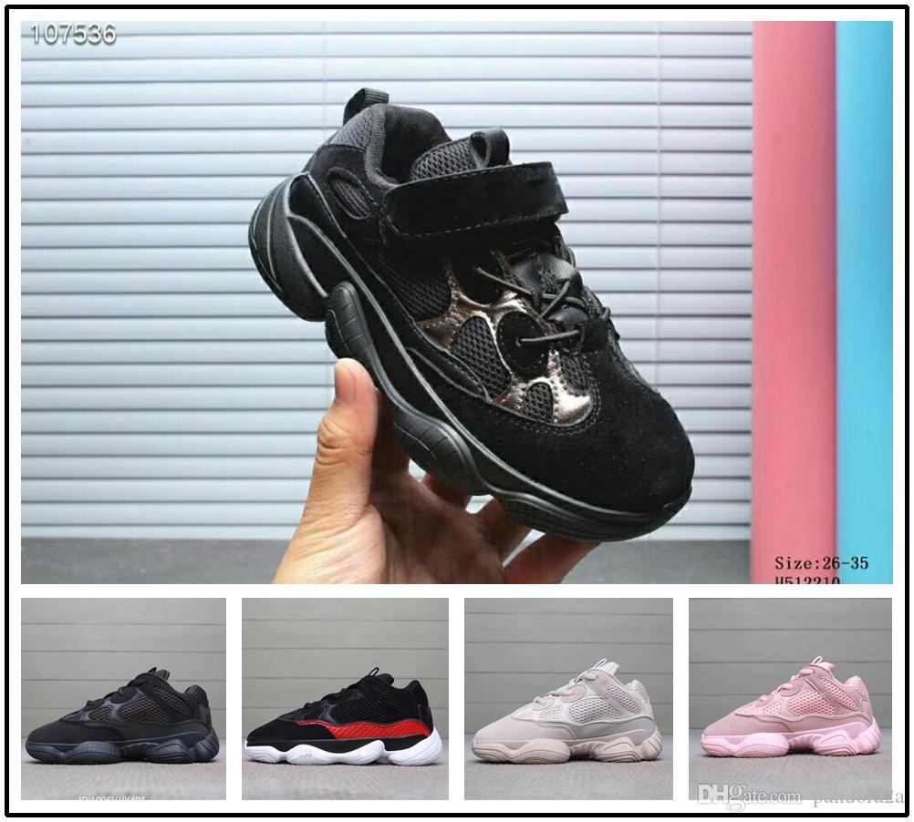 Boy Yeezy Supreme 2018 Zapatos Correr Adidas Girl West Sneaker Para Niños Boost Kanye Wave 500 Trainer Runner qVGSzMUp