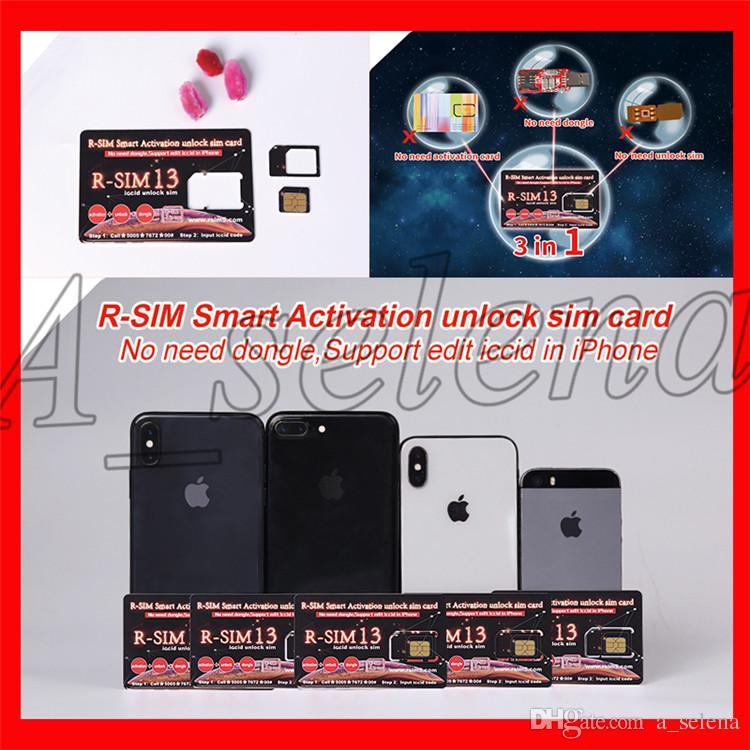 45923b578 Compre Mais Novo Rsim 13 R Sim13 Rsim13 Cartão De Desbloqueio Para Iphone 7  8 Xs Max Apoio Editar Iccid Smart Ativação Desbloquear Cartão Sim De  A selena