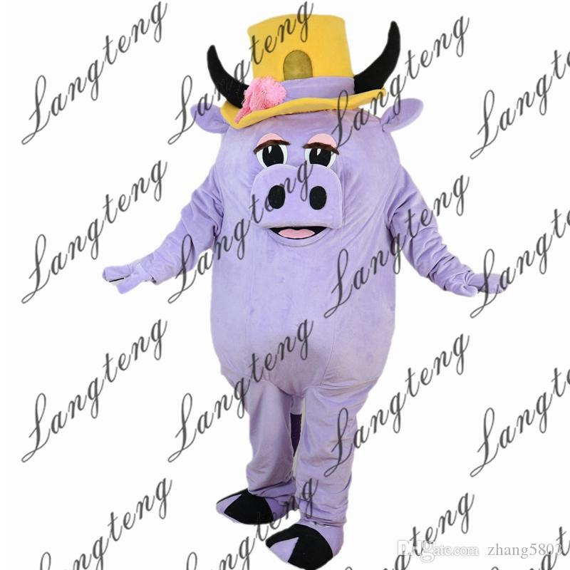 2018 New High Quality Light Purple Pig Mascot Costumes For Adults Circus Christmas Halloween Outfit Fancy Dress Suit Movie Costumes Hollywood Costumes From ...  sc 1 st  DHgate.com & 2018 New High Quality Light Purple Pig Mascot Costumes For Adults ...