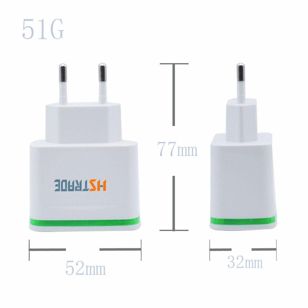 HSTRADE USB Smart Charger 4 Porte Adattatore multiplo a parete Dispositivo mobile 5V 4A Carica universale Ricarica iPhone HUAWEI