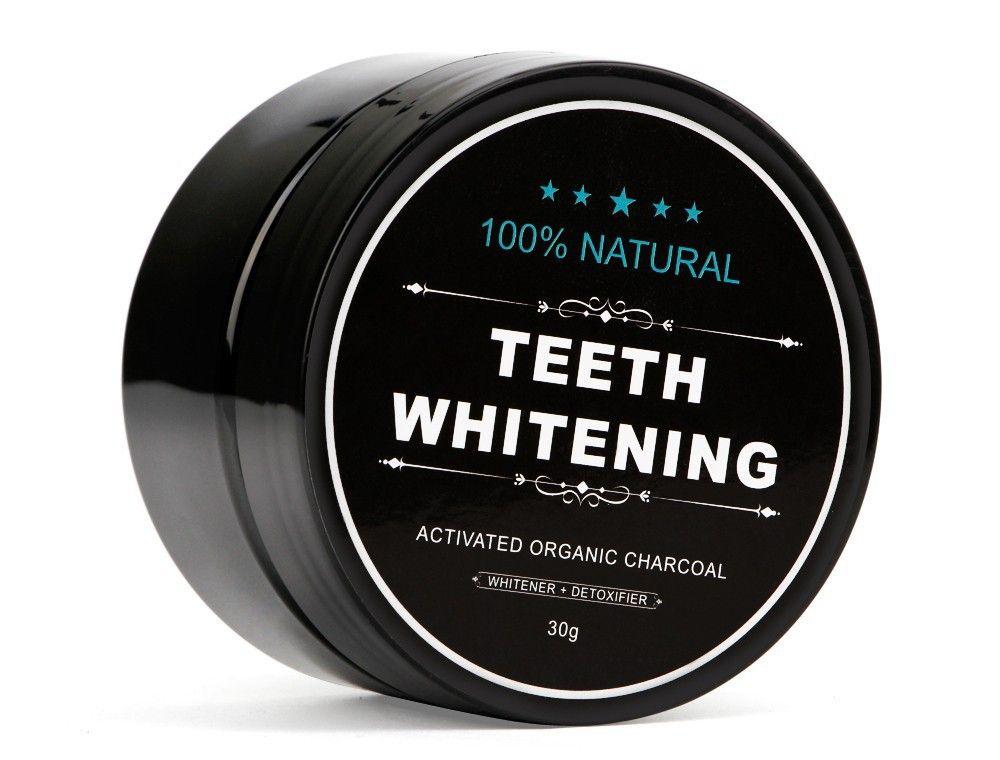 2019 Remover Dent De Nettoyage De Haute Qualité Dents Blanchiment 100% Naturel Dents Blanchiment Poudre Activé Organique Tache De Charbon De Bois