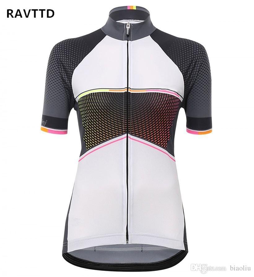 Cycling Jersey Ropa Ciclismo Women Short Sleeve Bike Wear Jersey ... f66962451