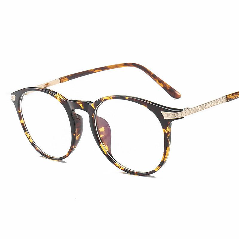 1d1cd205362 2018 New Fashion Retro Round Frame Brand Designer Vintage Spectacle ...