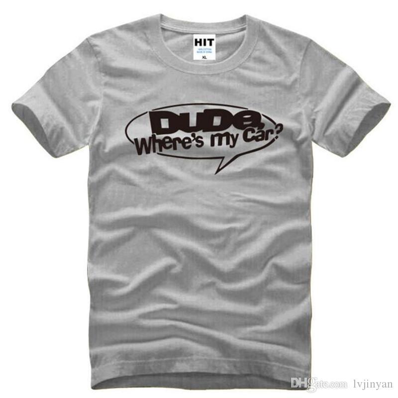 Geck Wheres Mein Auto Lustige Gedruckte T Shirts Männer Sommer Stil Kurzarm Oansatz Baumwolle herren T-Shirt Mode Herren T-shirt Top T-shirt