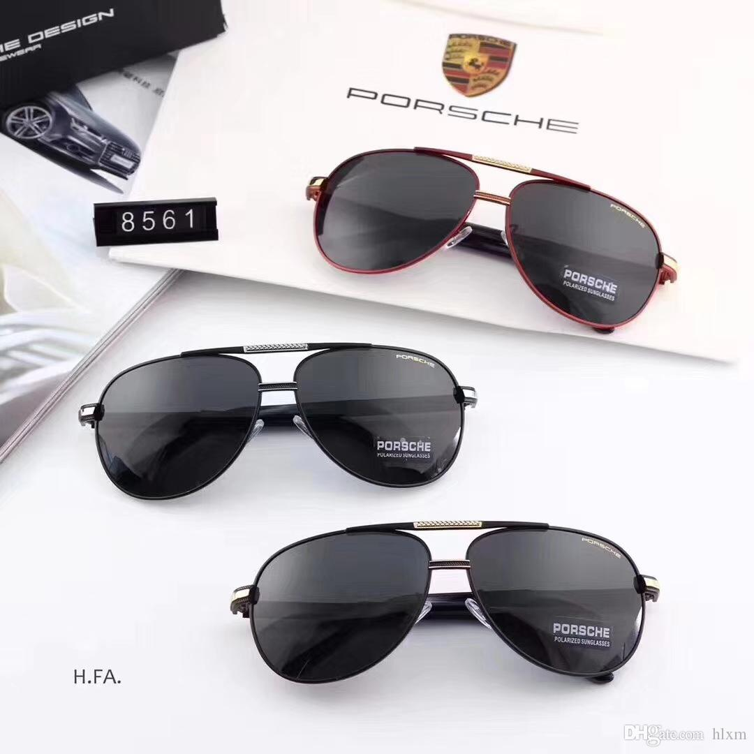 baac25715e The New Style Men S Polarized Sunglasses Stainless Steel In Summer 2018  Model 8561 Is Fashionable Sunglasses At Night Sunglasses Online From Hlxm