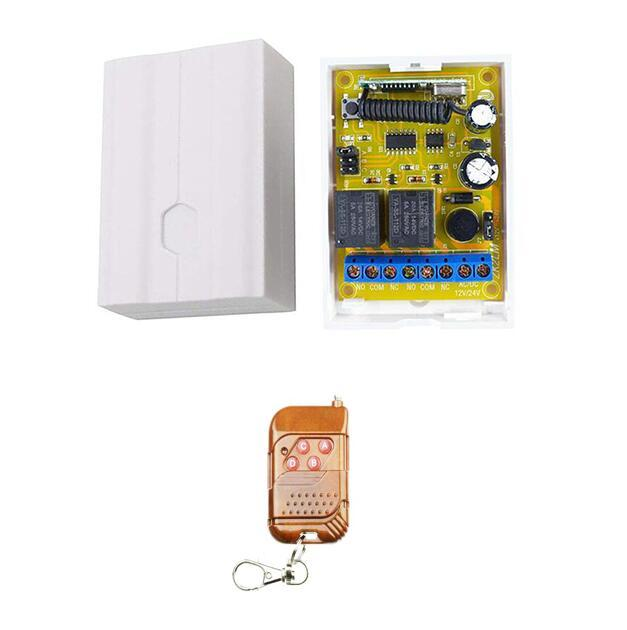 DC 12V 24V 2CH 433MHz Wireless Remote Control Switch RF Relay Receiver 433 MHz Button Module For Smart Home Light Switch