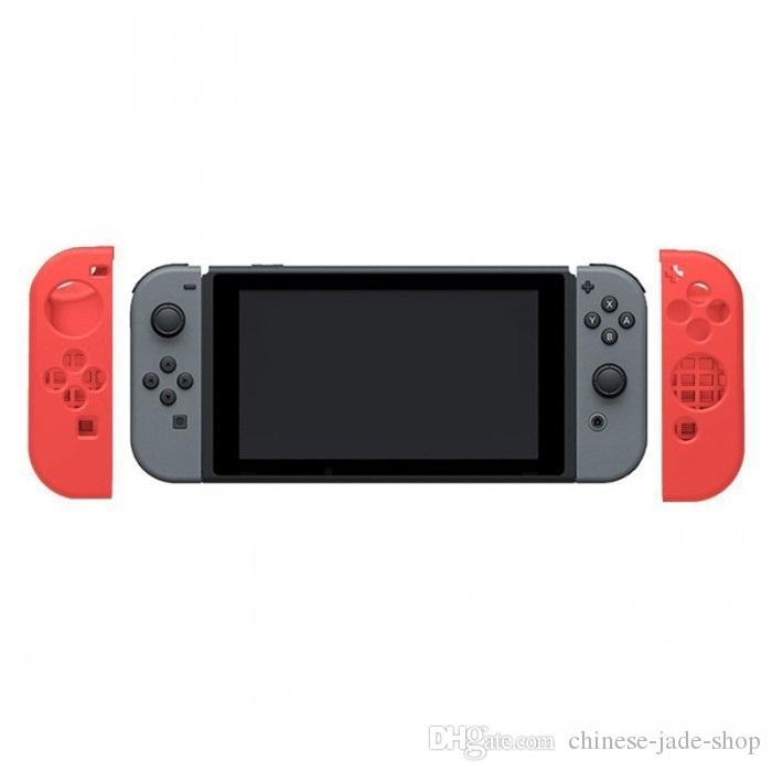 Silicon Silicone Case Protective Soft Cover Skins For Nintendo Switch NS NX for Joy-Con Controller