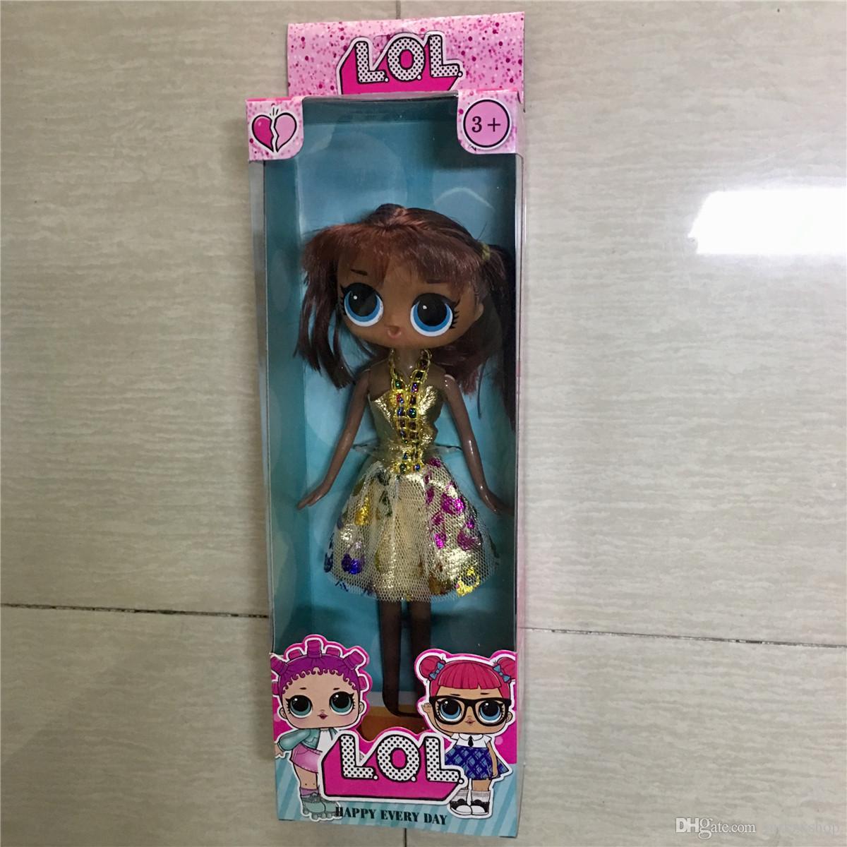 neue große 25cm Puppe Action-Figuren New Glitter Limited Edition Puppe Hände und Füße können funko pop bewegen