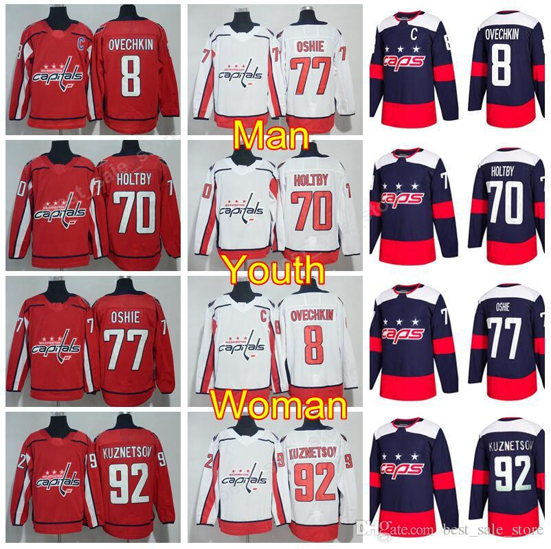 detailing f7df5 c4fd8 washington capitals braden holtby jersey
