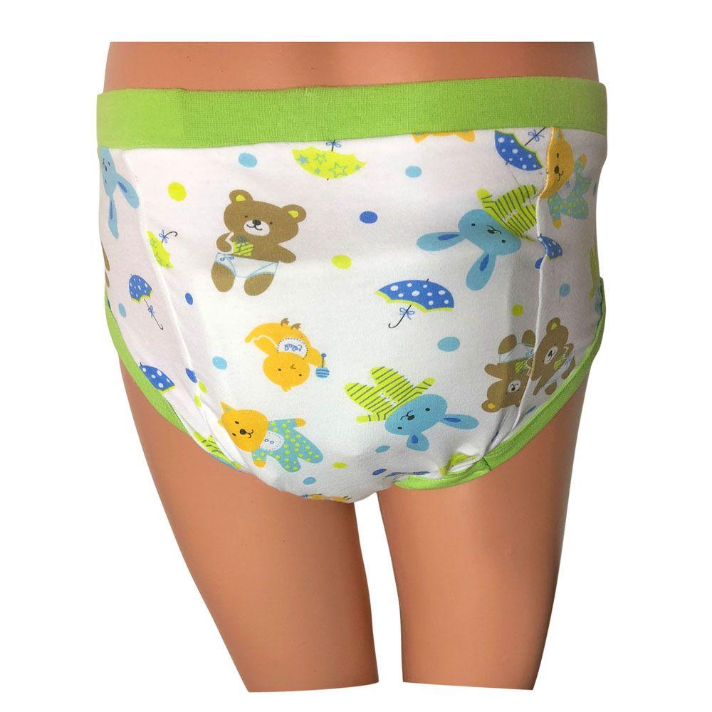 Großhandel Adult Baby Pad Hosen Abdl Windel Nachtwäsche Hosen Grün