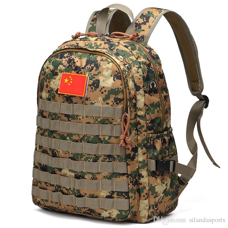 2019 Silanda Sports 40L Military Tactical Backpack 3 Day Assault Pack Army  Molle Bug Out Bag Trekking Camping Hiking Outdoor Small Rucksack From ... ac6455a37a