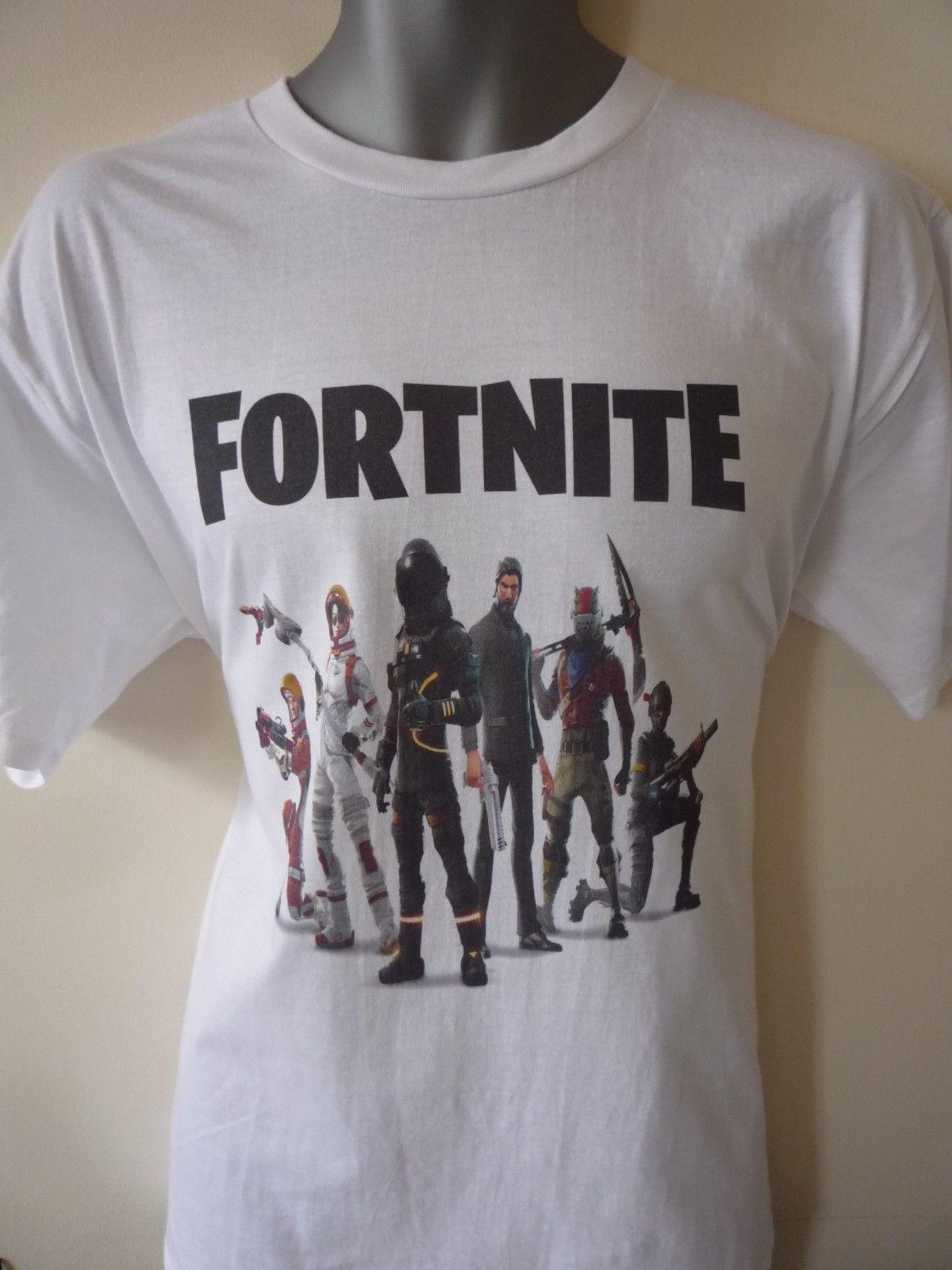 64cebaf4cf4 FORTNITE CHARACTER DESIGN KIDS ADULTS T SHIRT XBOX PSGAMING Funny Unisex  Casual Tee Gift Tees Shirts Cheap Design And Buy T Shirts From Tshirtsinc