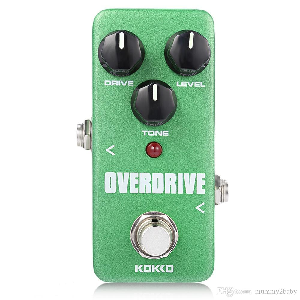 Flanger Kokko Overdrive Pure Analog Circuit True Bypass Design Mini Musical Effects Circuits Guitar Effect Pedal Guitarra Portable Electric Guit