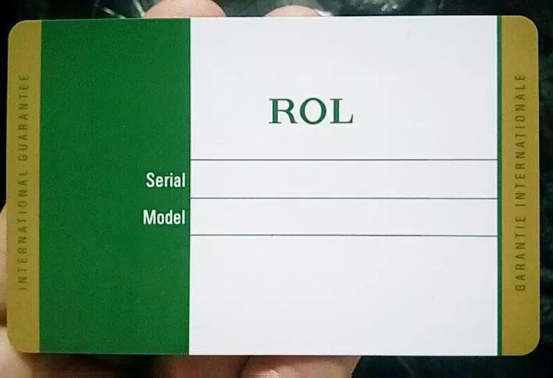 10 шт. / лот высокое качество лучший дизайн роскошный зеленый rx, hblot, mb карты для пера / кошелек / часы / браслет