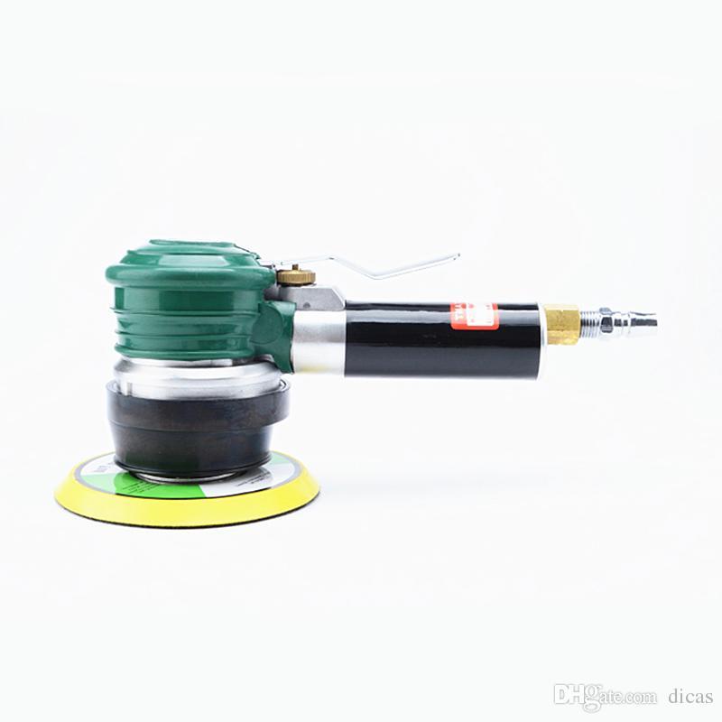 Livraison gratuite 5 ou 6 pouces lourds ponceuse pneumatique circulaire ponceuse à air grande meuleuse excentrique polissage machine à papier de verre