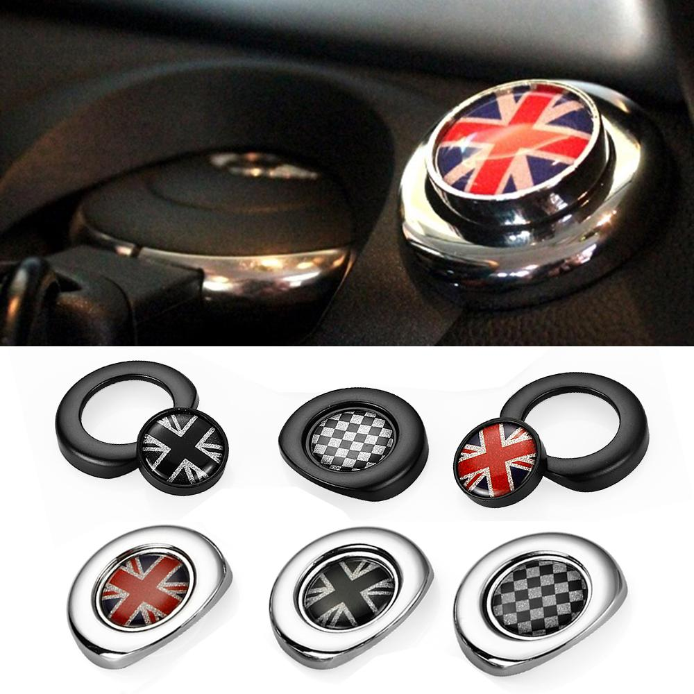 Car Styling Interior Ignition Start Button Sticker For Mini Cooper