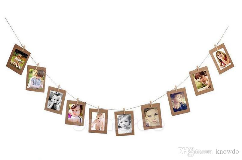 Paper Photo Frame Decorations Recollection Of Good Memories Decorate