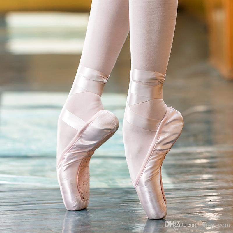 d4684513 Compre Sansha Ballet Pointe Shoes Satin Upper Con Ribbon Girls Mujeres Pink  Danza Profesional Zapatos Gel Gel Toe Pads SP1.8 US 9C 11.5 A $22.33 Del ...