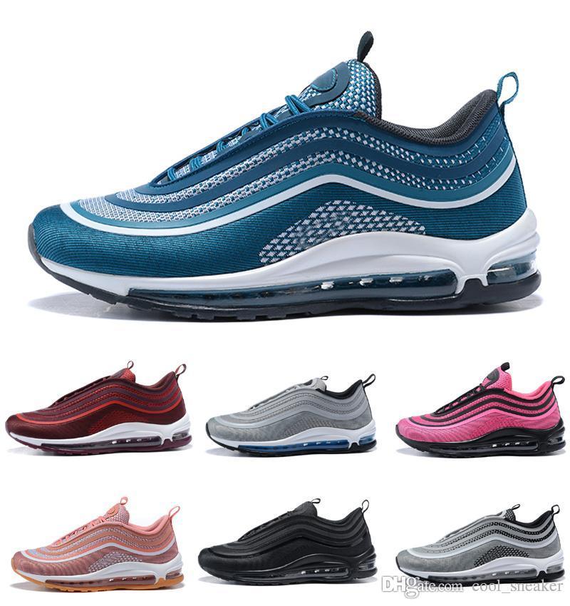 reputable site e9059 adad1 Acquista Scarpe Da Running Da Uomo Nike Air Max 97 Silver Bullet Donna 97  ULTRA 17 Sport Sneaker Gli Amanti A $89.46 Dal Cool_sneaker | DHgate.Com