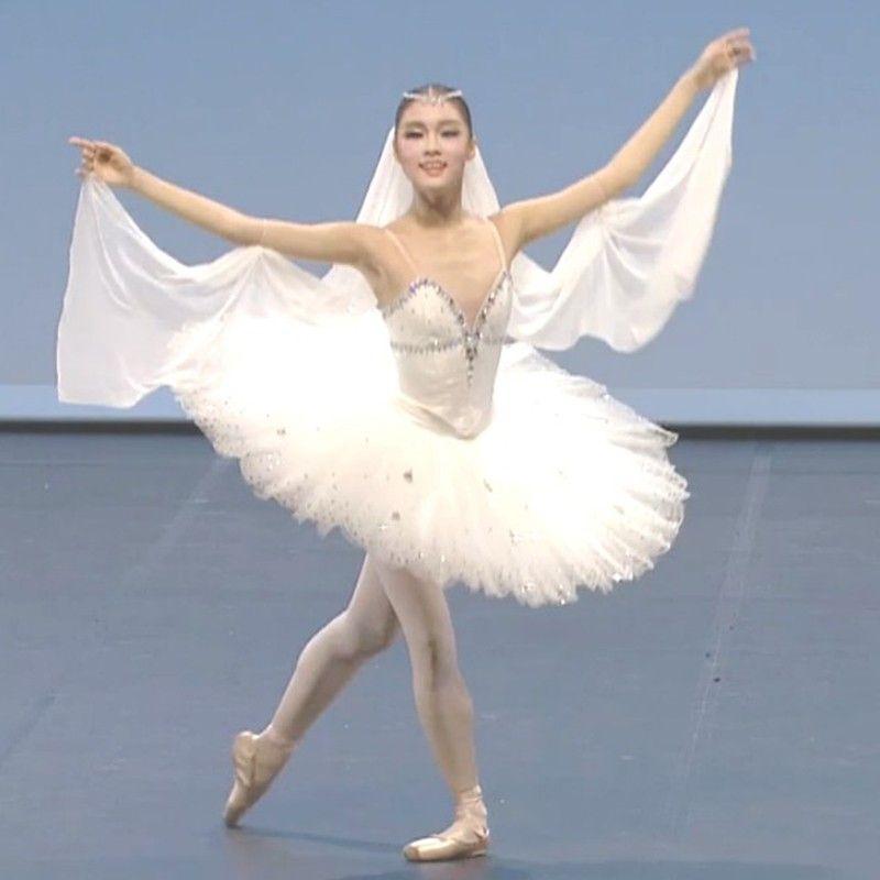 dc88d5aeb Adult Professional White Swan Lake Ballet Tutu Costume Girls ...