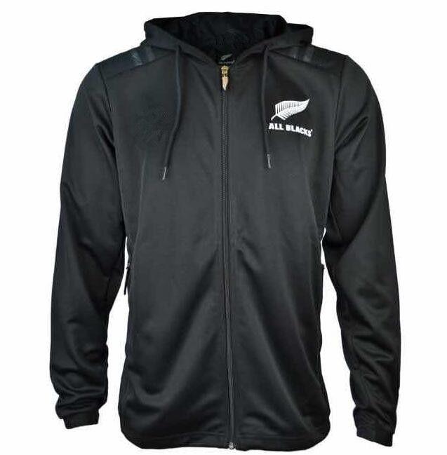 d6356ee938fff Compre 2018 2019 All Blacks Chándal 2018 Toda Marca Negra Con Capucha  Sudadera Con Capucha Zealand Man Chándal NRL Rugby Jerseys A  29.95 Del  Zhuhao2 ...