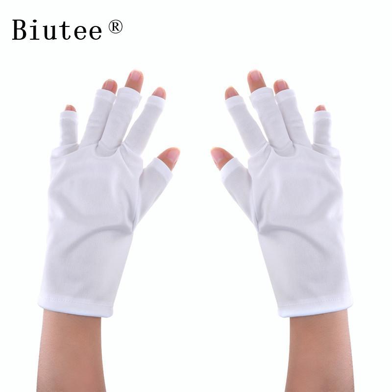 Uv Protection Nail Art Uv Gel Anti Glove For Light Lamp Radiation ...