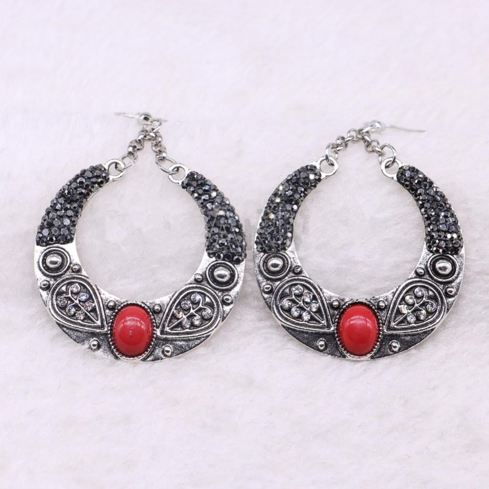 Vintage Tibetan Hook Earrings Retro Indian Dangle Earrings Fashion  Wholesale Women Jewelry Earrings Online with  29.72 Pair on Allgoodstone s  Store ... 28874d2b884f