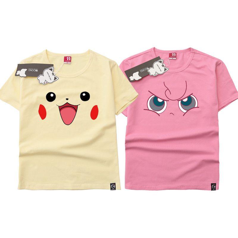 70360f55 Pocket Monsters Pikachu Jigglypuff Cosplay Costume Anime Printed O Neck Tee  Shirt Short Sleeve Men Women T Shirt Fun T Shirts Online Tshirt And Shirt  From ...
