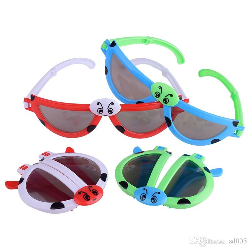 cd7c9a22ec Fashion Cartoon Animal Modeling Kids Sunglasses Fold Deformed Colorful Glasses  Boys And Girls Small Toy Hot Sale 2lh Ff Wholesale Sunglasses Cool  Sunglasses ...