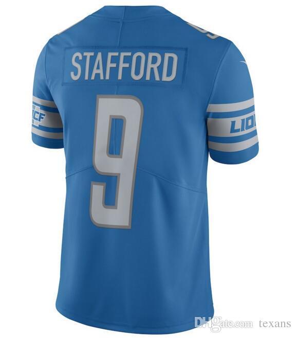 Compre Detroit Matthew Stafford Lions Camiseta Barry Sanders Darius Slay Jr  Golden Tate Iii Camiseta Personalizada Barata Color Rush Camisetas De Fútbol  ... 3ac58e494171b
