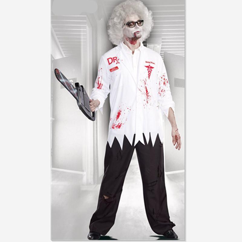 Großhandel Zombie Kostüme Erwachsene Gruselig Halloween Kostüm