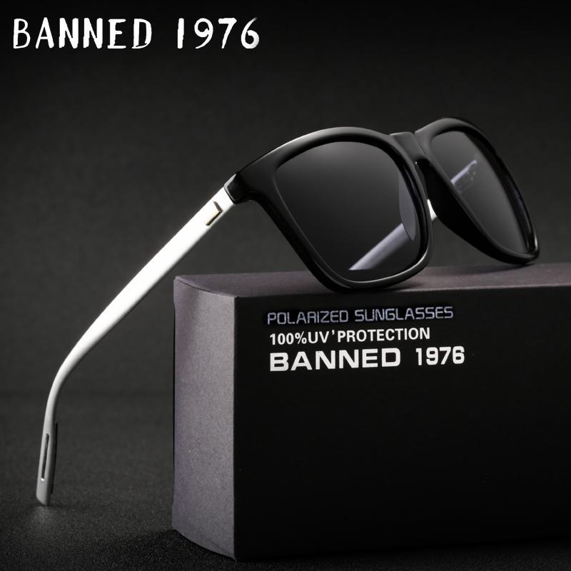 Compre 2018 Hd Óculos De Sol De Alumínio Polarizado Magnésio Uv400 Homens  Mulheres Condução Moda Vintage New Óculos De Sol Oculos De Sol Com Caixa  D18101302 ... 78366a3f40