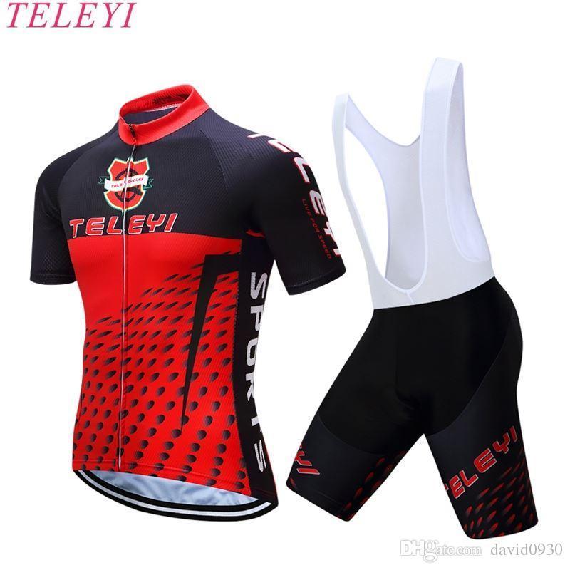 New 2017 TELEYI Men Cycling Jerseys Quick Dry Ropa Ciclismo Bike ... 5bea2c869