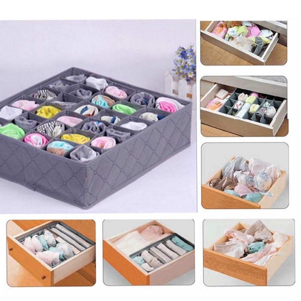 30 cells square storage box underwear socks drawer closet organizer rh dhgate com