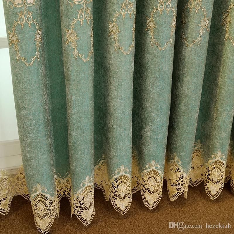 2019 european style blackout living room curtains finished rh dhgate com